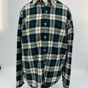 L.L. Bean Signature Flannel Shirt. Sz. M